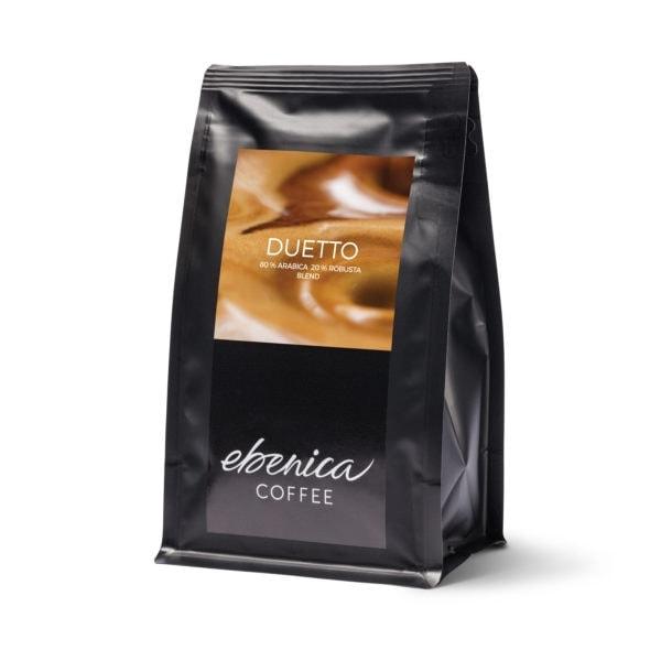 obal kávy Ebenica Duetto