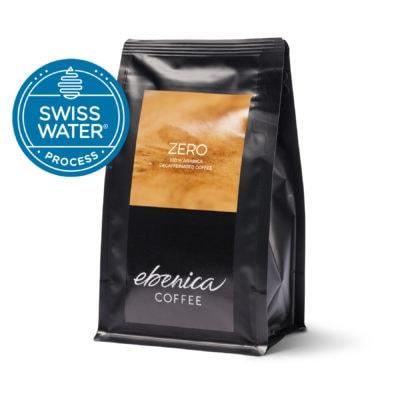 balenie bezkofeínovej kávy Ebenica Zero