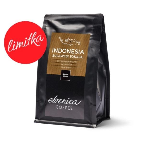 obal kávy Indonesia Sulawesi Toraja