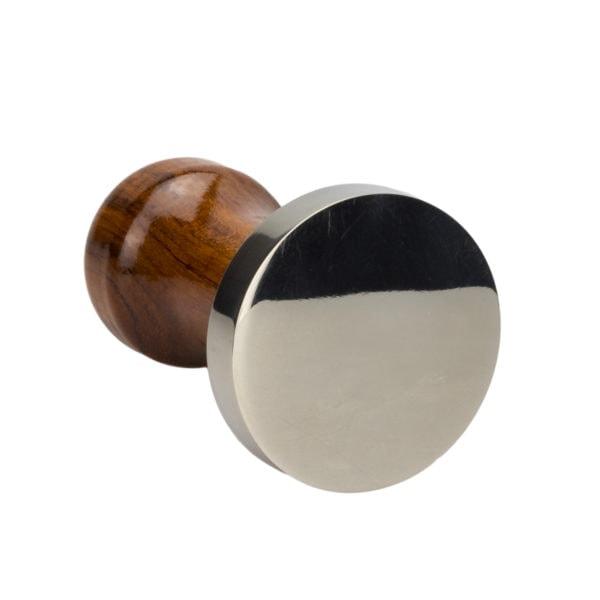 dreveno-kovový tamper detail