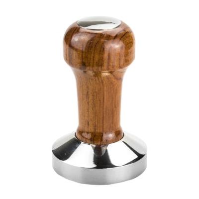 dreveno-kovový tamper na kávu