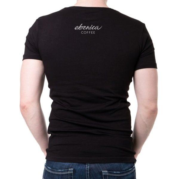 pánske tričko Nedostatok kofeínu detail chrbát