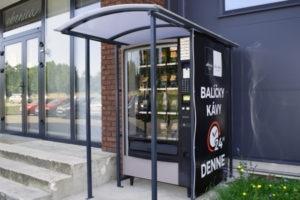 BeanBox - automat na balíčky kávy