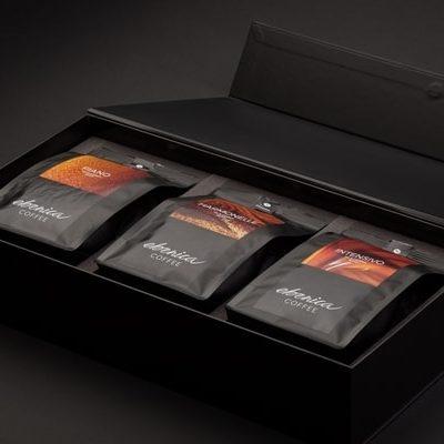 Darčková kazeta s troma kávami