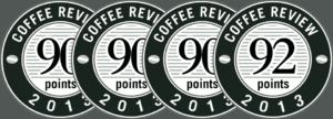 Ocenenie Coffee Review logo