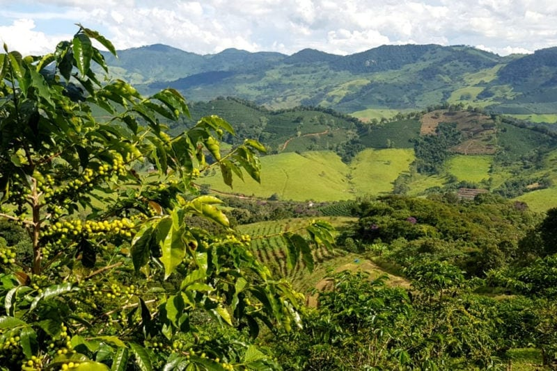 záber na Plačúce hory v Brazílii