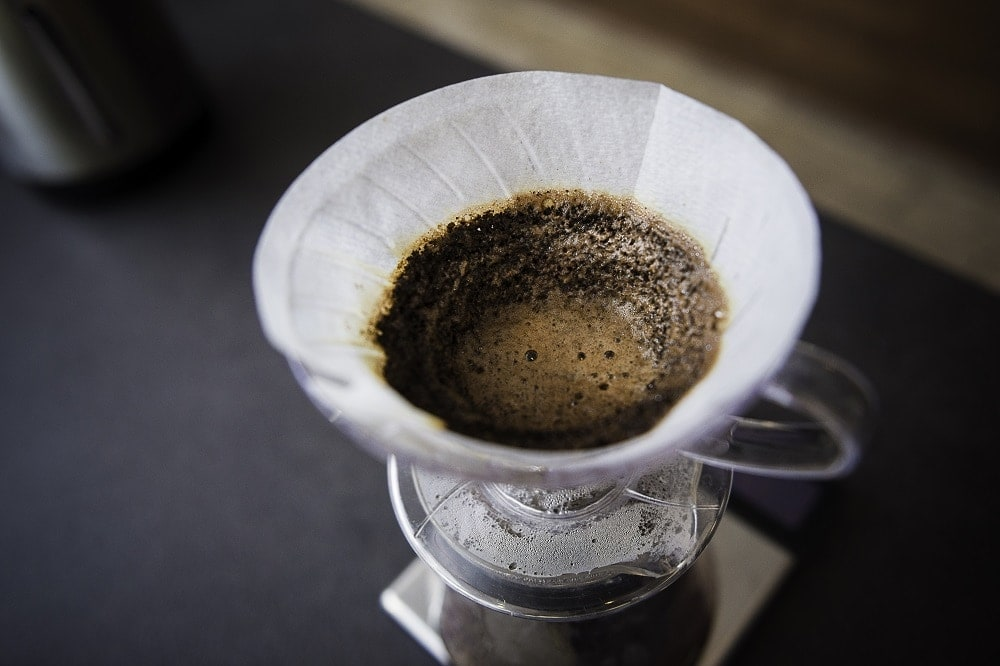 filtrovaná káva detail