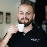 Fotka Majo - hlavný barista a manažér