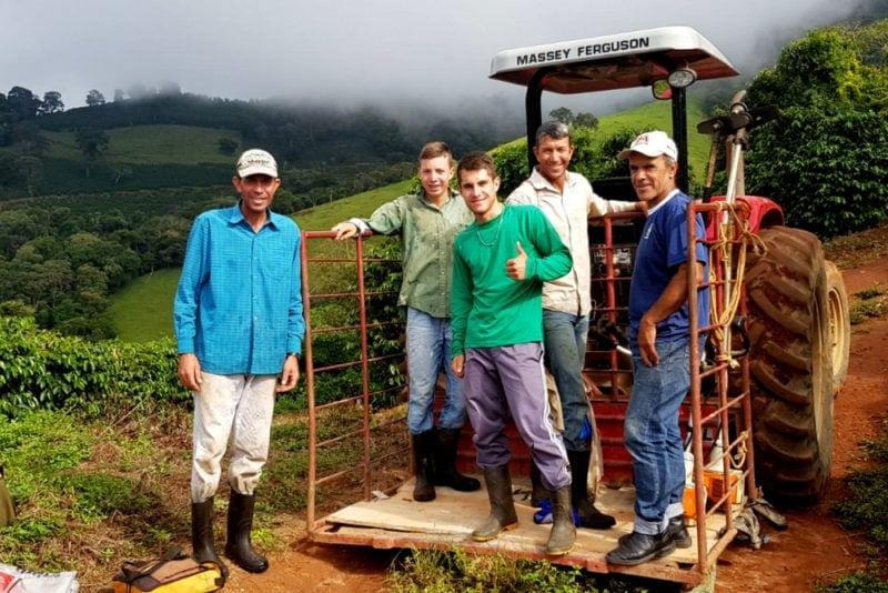 pracovníci z kávových plantáží