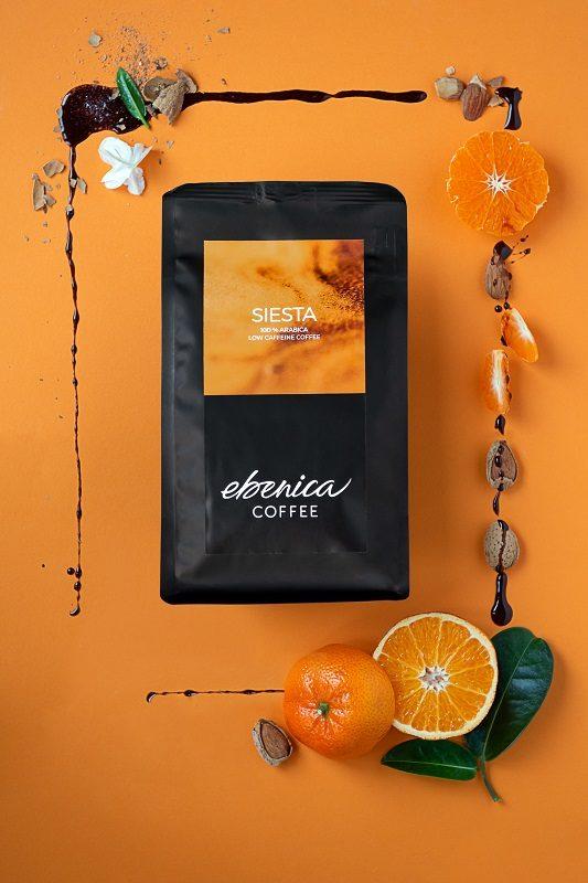 štylizovaná fotografia kávy
