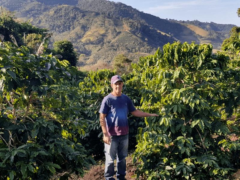 Antônio Márcio da Silva na svojej farme