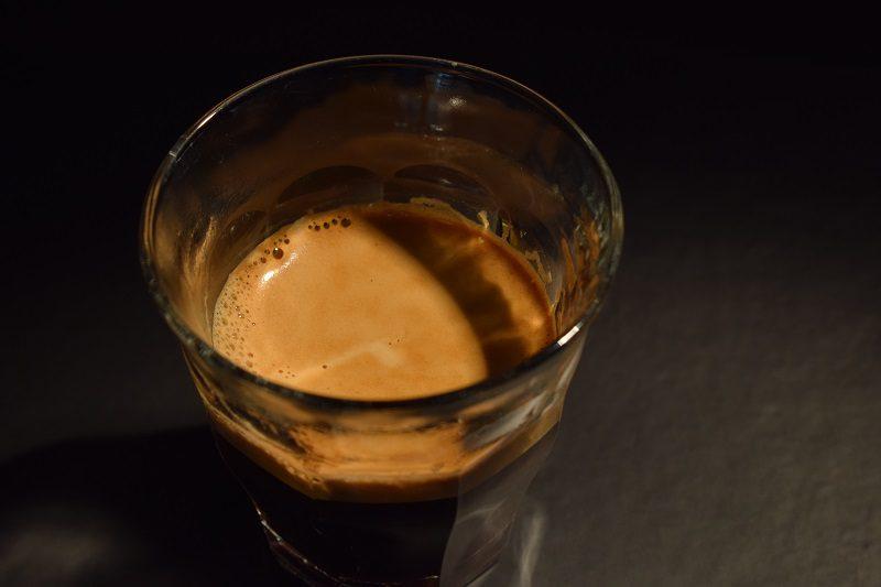 espresso s bohatou cremou