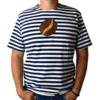 pánske pískacie tričko kávové zrnko spredu
