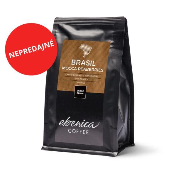balenie kávy Brasil Mocca Peaberries