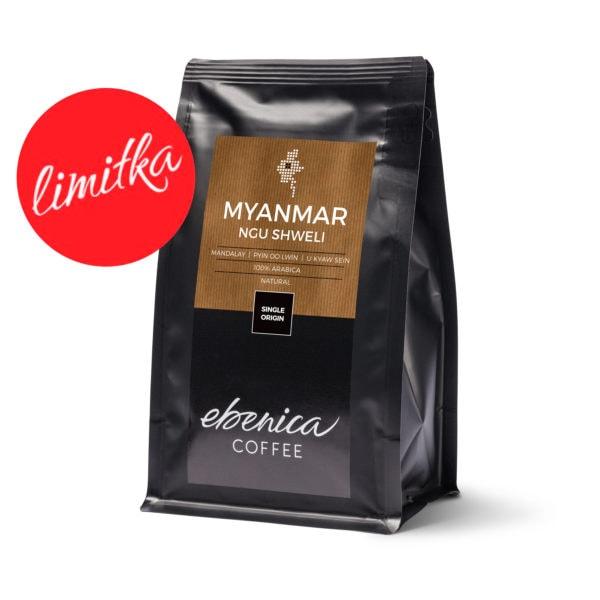 balenie kávy Myanmar Ngu Shweli