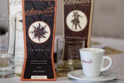 Káva Ebenica Intensivo v papierovom obale