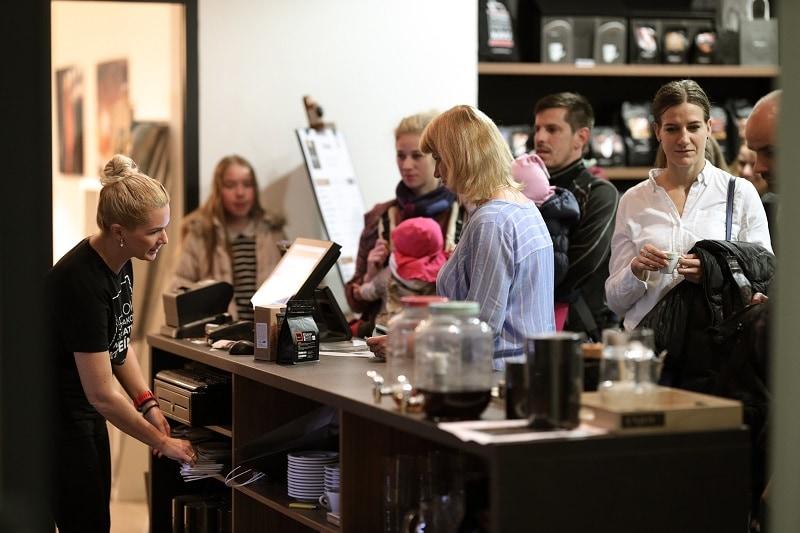 návštevníci Kávobrania v našej predajni