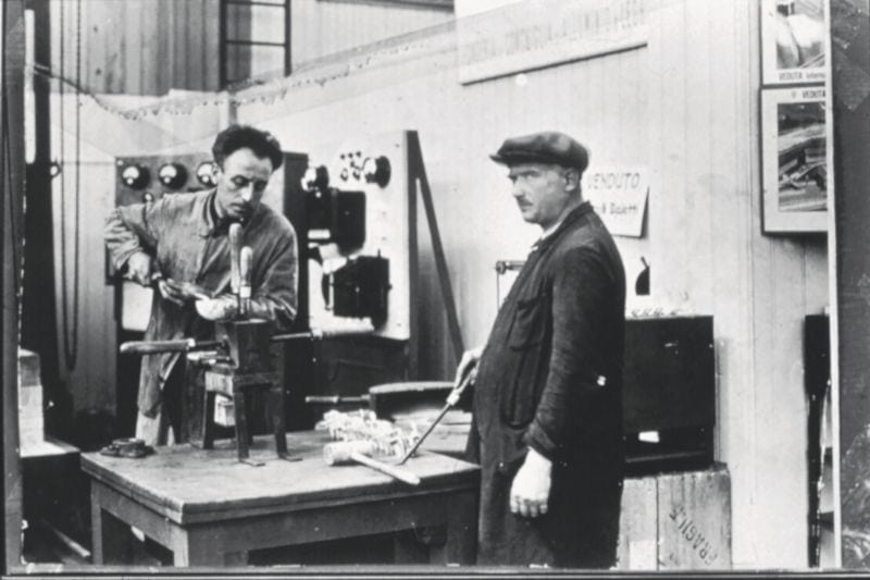 historická fotografia Alfonsa Bialettiho