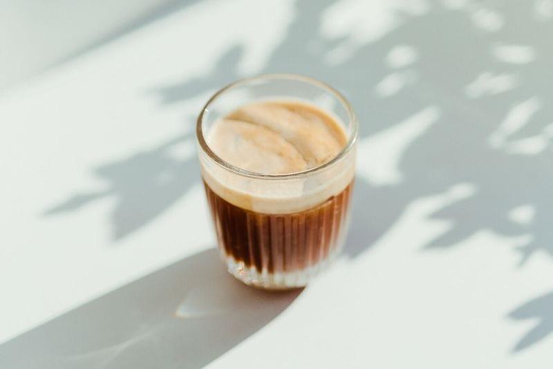 ristretto ako základ pre mliečne kávy