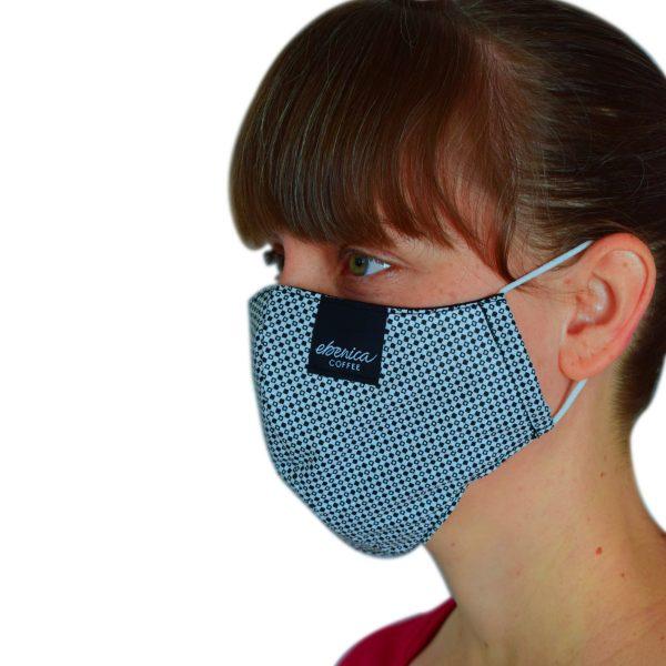 dámske pepitové rúško maska
