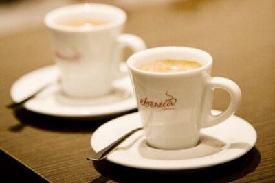 šálky na espresso Ebenica