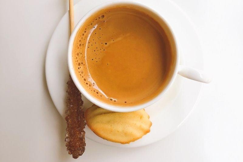 bohatá crema ristretto kávy