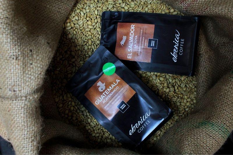 ocenené jednoodrodové kávy Ebenica