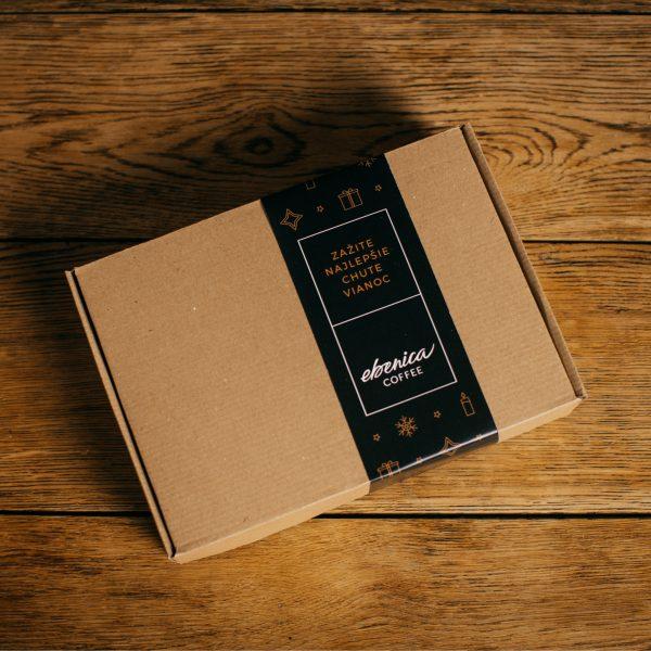 Vianočný kávový balíček zatvorený