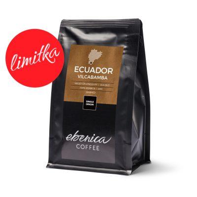 balenie kávy Ecuador Vilcabamba