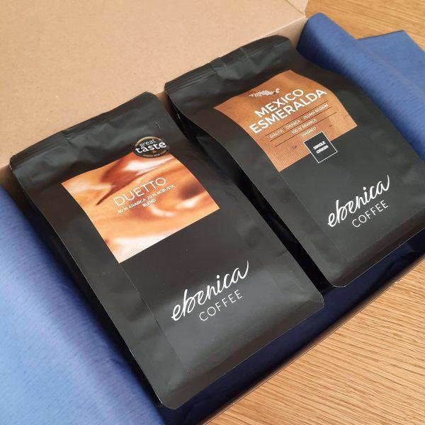 valentínsky kávový balíček - Duetto a Mexico