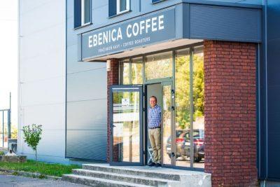 podniková predajňa EBENICA COFFEE v Modre