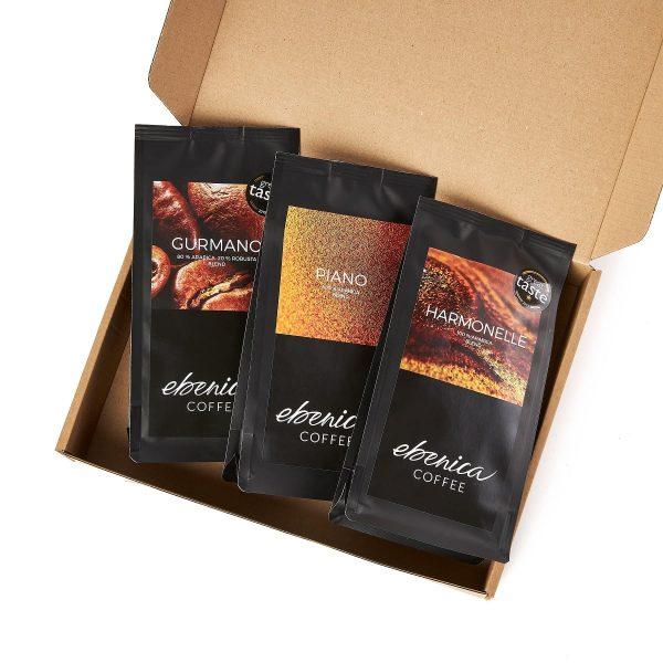 vzorky klasických káv Ebenica