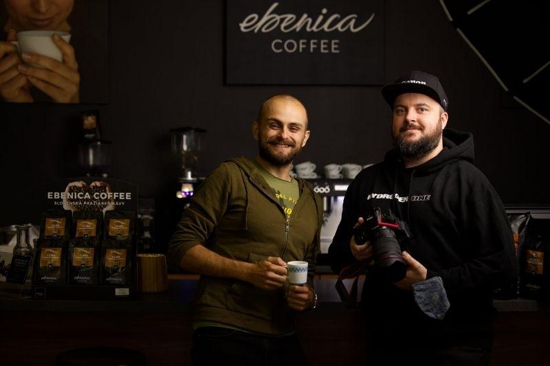 barista Majo s kameramanom Mišom Barokom