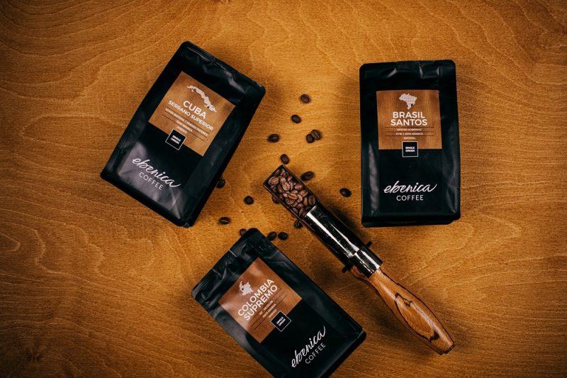single origin kávy z Brazílie, Kolumbie a Kuby