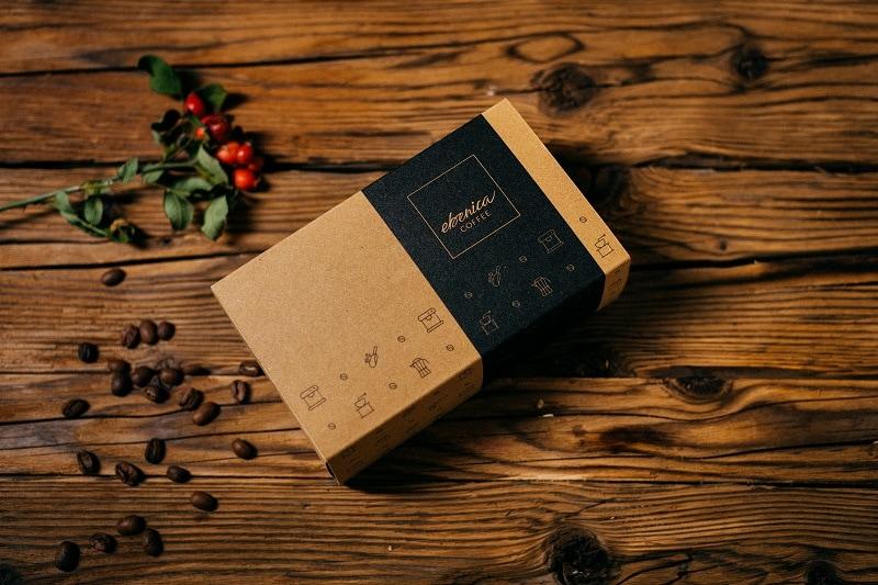 darčeková krabička na kávu